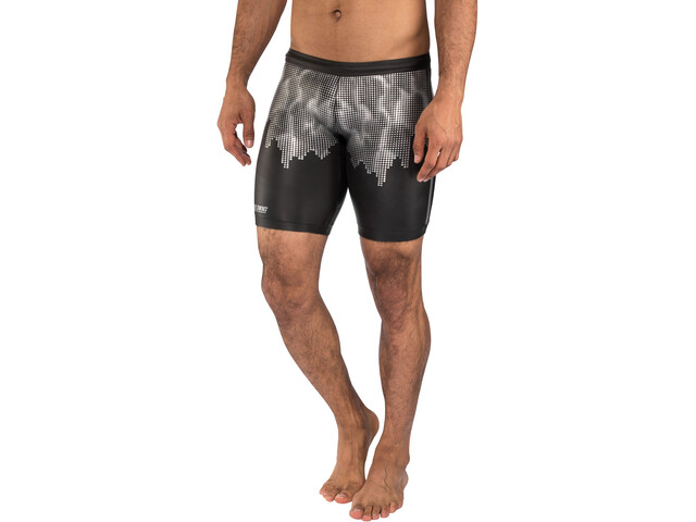 Colting Wetsuits SP02 Uimahousut Miehet, black/silver